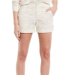 Sanctuary explorer beige cuffed shorts